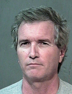 Jail mugshot of Brian Weymouth, October 2011
