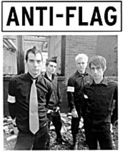 Patch work: Anti-Flag makes its mark on the punk scene.