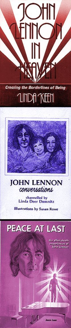 "Turn me on, dead man: A trio of appalling Lennon tomes boast about knowledge of the late Beatle's ""afterlife."""