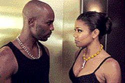 Cradle robber: DMX and Gabrielle Union in Cradle 2 the Grave.
