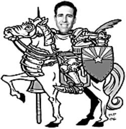 Senator Jack Harper's the real guy on a white horse in the election controversy.