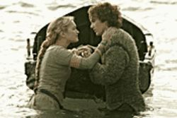 Soggy saga: Sophia Myles and James Franco cover old ground (and water) in Tristan & Isolde.
