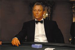 Back to the future: Craig — Daniel Craig — takes over the role of James Bond in Casino Royale.