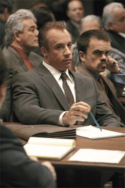 Hell toupee: Vin Diesel is a mobster acting as his own defense in Find Me Guilty.