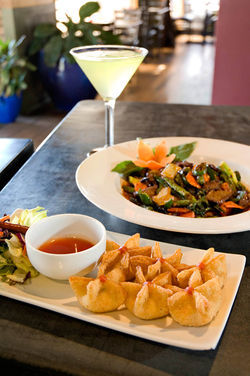 At Sa Bai, fresh, traditional Thai favorites are served in a tranquil setting.
