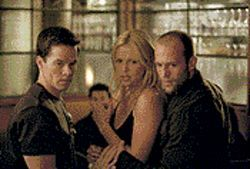 Venice, anyone?: Mark Wahlberg, Charlize Theron and Jason Statham play a high-stakes game in The Italian Job.