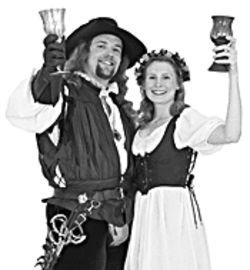 "Cheers!: Say, ""I do"" at the Renaissance Festival."