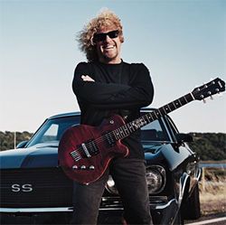Sammy Hagar&#039;s gone country for Livin&#039; It Up.