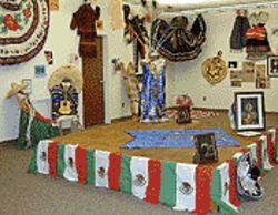 Costume hall: Now's your last chance to see the  trappings of Mexico's folkloric traditions on display at  Guadalupe Town Hall.