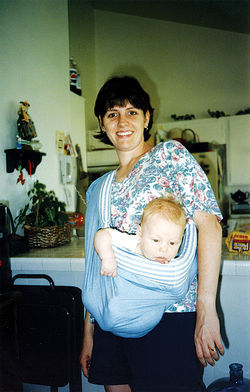 Niki and baby Alex