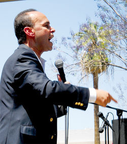 Congressman Luis Gutierrez.
