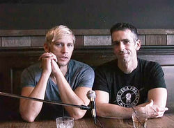 Sex columnist Dan Savage (right) and his husband Terry Miller appear in the inaugural It Gets Better video.