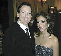 Scott and Ashley at a recent Phoenix Suns Charities fundraiser.