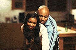 Stand and Deliver: Gabrielle Union and LL Cool J get cozy in Deliver Us From Eva.
