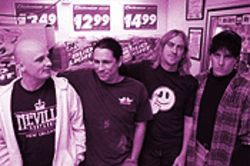 Dead Hot revisited: From left, Brent Babb, Curtis Grippe, Steve Larson and G. Brian Scott.