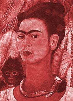 "Freda Kahlo (seen here in a self-portrait) is among the artists featured in ""Artists Without Bounds."""