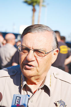 Joe Arpaio and Andrew Thomas kicked off the investigation of Don Stapley on May 14, 2008.