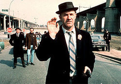 Gene Hackman as Popeye Doyle in The French Connection.