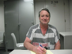 Roger Garfield has been held at the Maricopa County Jail since his conviction was reinstated in January.