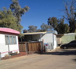 Southern Meadows Trailer Park in West Phoenix was the site of a fatal shooting in December by Don Purse, who claims he killed Danny Morales in self-defense.
