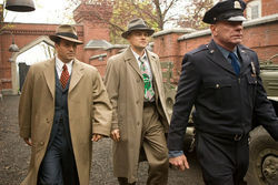 Head trip: Mark Ruffalo and Leonardo DiCaprio get mixed up in Shutter Island.