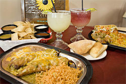Hot stuff — along with tasty margaritas, plentiful nachos, and sweet sopaipillas — at Si Señor in Chandler.