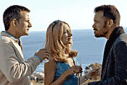 Three's a crowd: Campbell Scott, Patricia Clarkson and Peter Sarsgaard are involved in a tragic love triangle in The Dying Gaul.