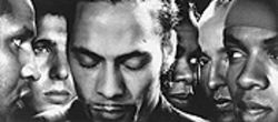 The many faces of Roni Size (center) and Reprazent.