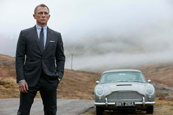 Daniel Craig stars in Skyfall.
