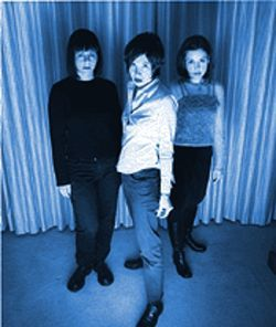 Sleater-Kinney strikes a pose with All Hands on the Bad One.