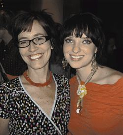 "Gina and Christy, so sweet and chic at ""Luna: Fall SMoCA Nights"" in Scottsdale on Thursday, November 9."