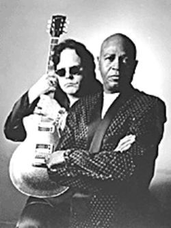 Feel the burn: Smokin' Joe Kubek and B'Nois King make a hot blues duo.