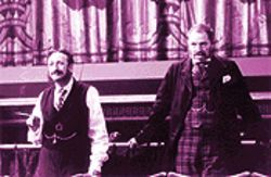 Gilbert and Sullivan's travels: Allan Corduner (left) and Jim Broadbent in Topsy-Turvy.
