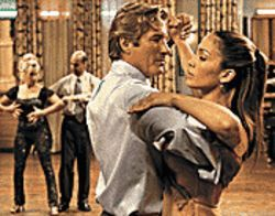 Richard Gere takes J-Lo for a spin in Shall We Dance? 