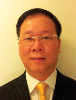 William Tien, president of Zentric Inc. and Alpha Lujo