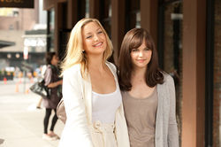 My best friend's wedding: Kate Hudson and Ginnifer Goodwin star in Something Borrowed.