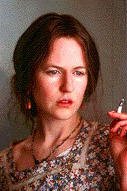 Yes, that's Nicole Kidman as a morose Virginia Woolf.