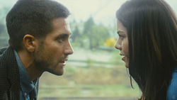 Mystery train: Jake Gyllenhaal and Michelle Monaghan play with time in Duncan Jones' Source Code.