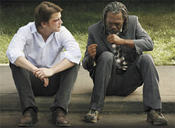 Pulling punches: Josh Hartnett and Samuel L. Jackson in Resurrecting the Champ.