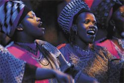 Out of Africa: Soweto Gospel Choir basks in international fame.