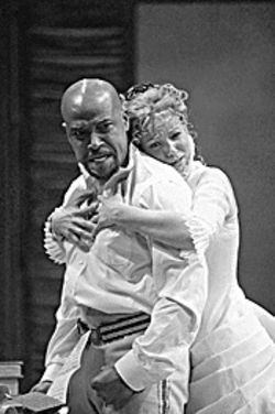 Love hurts: Othello tells the tale of lovers torn apart.