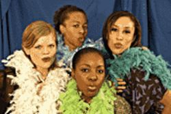 Black beauties: Black Theatre Troupe performs at Herberger Theatre.