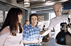 Brain teaser: Mary Elizabeth Winstead (left) and Michael Angarano (center) get some instruction from Kevin McDonald in Sky High.