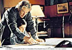 Oy vey! Richard Gere (with Flora Cross) is unconvincing as a Jewish father in Bee Season.