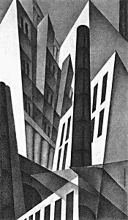 Pittsburgh, Louis Lozowick, 1925-27
