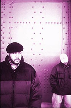 Blackalicious' Chief Xcel and Gift of Gab, looking at the big picture.