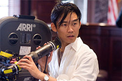 Director James Wan (Death Sentence, Saw)