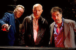 Christopher Walken, Alan Arkin, and Al Pacino star in Stand Up Guys.