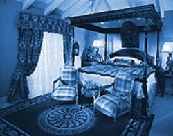 "The redesigned master bedroom inside the Stapley home was a centerpiece of the ""Showcase"" project."