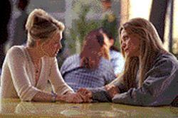 Foster pussycat: Renée Zellweger and Michelle Pfeiffer in White Oleander.